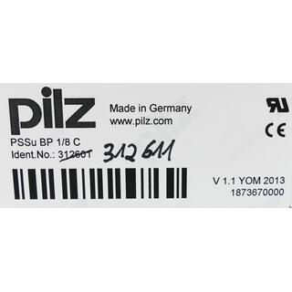 PILZ 312611 PSSu BP-C 1/8 C Basismodul 187369 -unused-