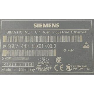 SIEMENS SIMATIC 6GK7443-1BX01-0XE0 E Stand: 1 -used-