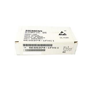 SIEMENS SIMATIC S5 6ES5374-1FH11 E-Stand: 3 -sealed-