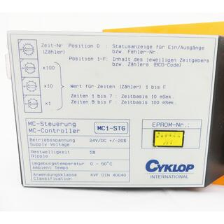 CYKLOP INTERNATIONAL MC1-STG MC-Controller -used-