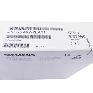 SIEMENS SIMATIC S5 6ES5482-7LA11 E-Stand: 11 -sealed-