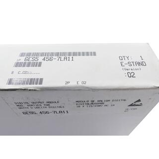 SIEMENS SIMATIC S5 6ES5456-7LA11 E-Stand: 2  -sealed-