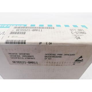 SIEMENS SIMATIC S5 6ES5521-8MA11 E-Stand: 4 -sealed-