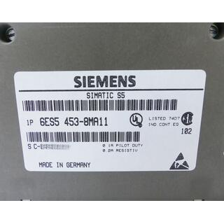 SIEMENS SIMATIC S5 6ES5453-8MA11 E-Stand: 1 -unused-