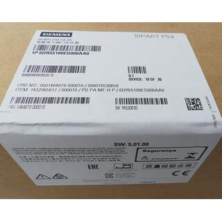 SIEMENS SIPART PS2 6DR55100EG000AA0 SW: 5.01.00 -sealed-