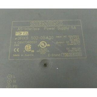 SIEMENS 3RX9502-0BA00 AS-Interface Vers. 02 -used-