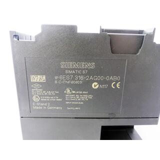 SIEMENS SIMATIC S7-300 6ES7316-2AG00-0AB0  E Stand: 2 -used-