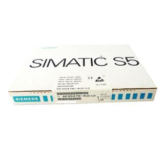 SIEMENS SIMATIC S5 6ES5470-4UC12 E-Stand: 5 -sealed-