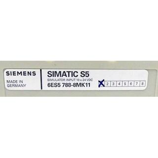 SIEMENS SIMATIC S5 6ES5788-8MK11 E-Stand: 1 -unused-