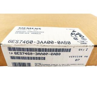 SIEMENS SIMATIC S7 6ES7460-3AA00-0AB0 6ES7 460-3AA00-0AB0 E-Stand: 7 -sealed-